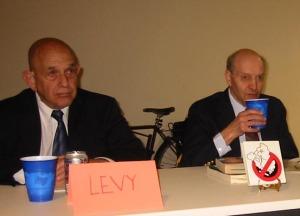 (L) Bob Levy, CATO Institute, & Martin Pion, MOGASP
