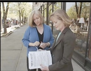 Ald. Krewson interview by Fox 2 News reporter, Betsy Bruce