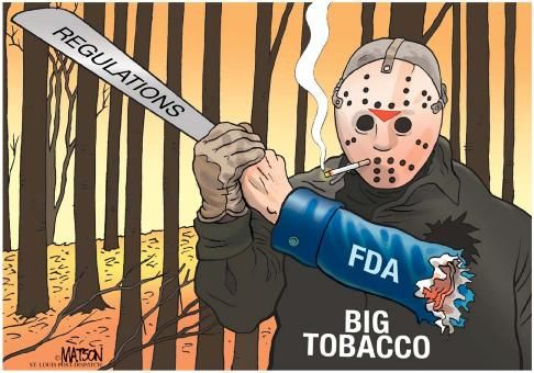 FDA regulation of Big Tobacco: Really?