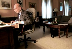 John Britton in his Jefferson City office (Photograph courtesy & copyright: Parker Eshelman)