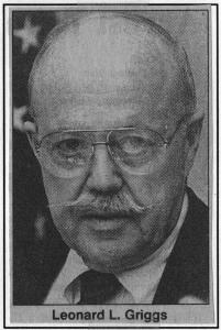 Airport Director, Col. Leonard Griggs