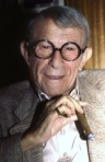 George Burns in 1986