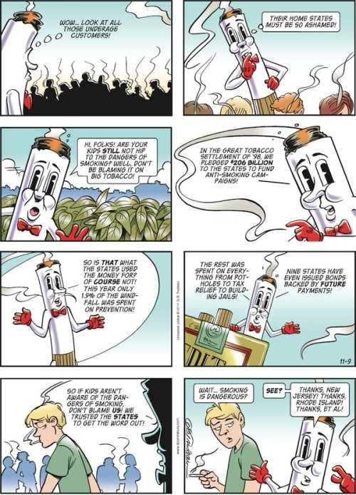 Doonesbury cartoon db141109 2014-11-10