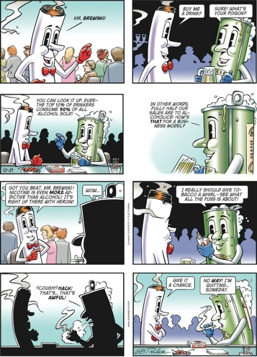 Doonesbury Mr Butts & Mr Brewski db141221